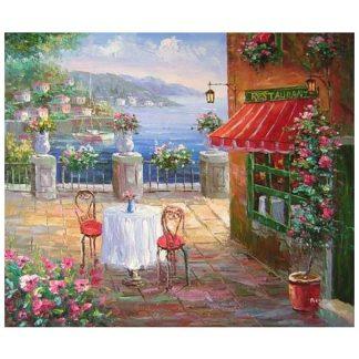 Obraz - Restaurace u moře