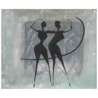 Obraz - Tanečníci se stuhou