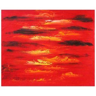 Obraz - Rudé mraky