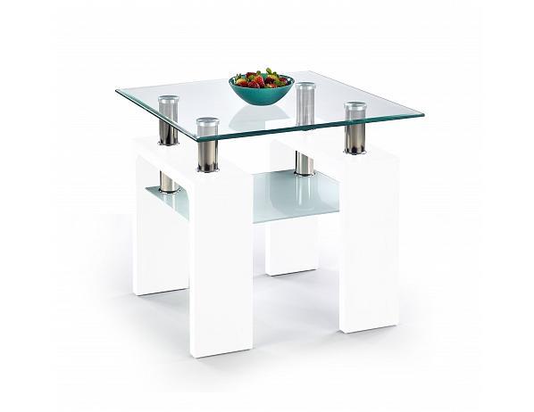 Konferenční stolek Diana H KW bílý