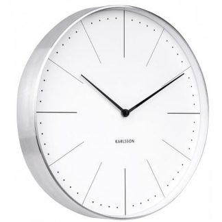 Designové nástěnné hodiny 5681WH Karlsson 38cm