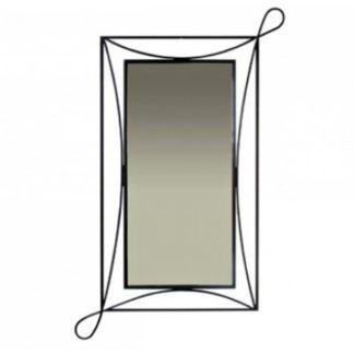 Zrcadlo s kovovým rámem SIRACUSA 0816