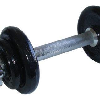 CorbySport Činka nakládací jednoruční - 5,5 kg