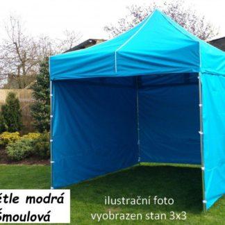 Tradgard PROFI STEEL Zahradní párty stan 3 x 4,5 - světle modrá