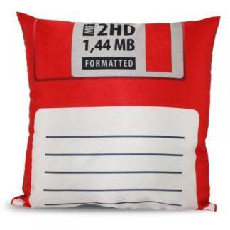 Polštář disketa - červená