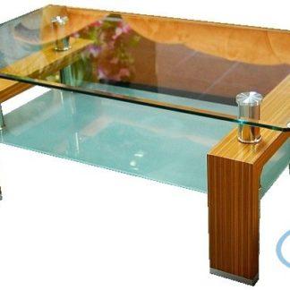Konferenční stolek Diana Lisa světlý ořech - FALCO