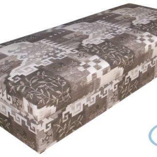 Čalouněná postel Rio 80x200 hnědá - BLANAŘ