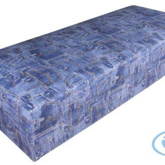 Čalouněná postel Rio 80x200 modrá - BLANAŘ