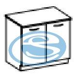 Eko dolní skříňka 80D - FALCO
