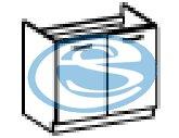 Chamonix dřezová skříňka 80ZL - FALCO