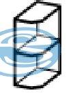 Chamonix dolní rohová skříňka 30D - FALCO