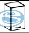 Chamonix horní skříňka 40G - FALCO