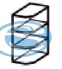 Chamonix horní rohová skříňka 30G - FALCO