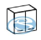 Sára horní skříňka 60G olše - FALCO