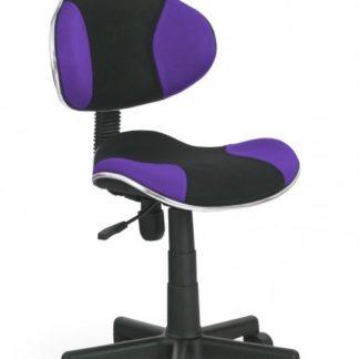 Dětská židle Flash Q-G2 černo-fialová - FALCO