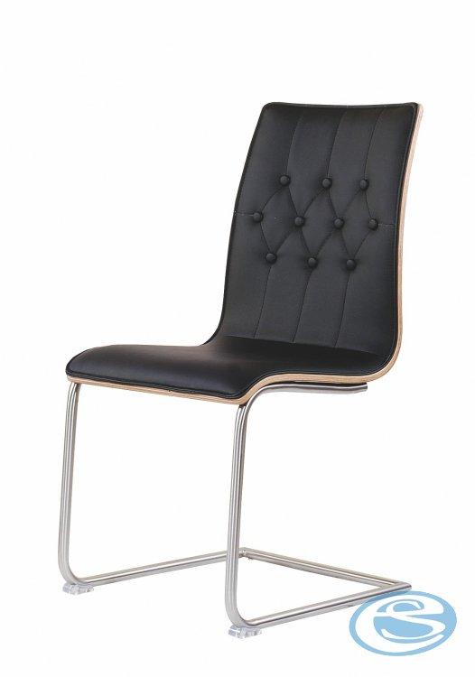 Jídelní židle K190 černá - HALMAR