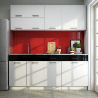Kuchyňská linka Brigita 180/180 vysoký lesk - FALCO