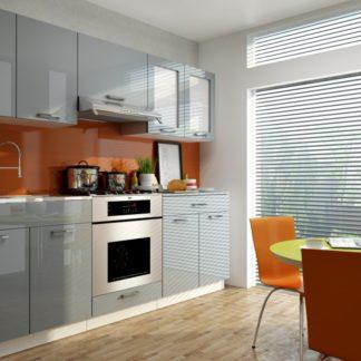 Kuchyňská linka Adelaid 220/220 vysoký lesk - FALCO