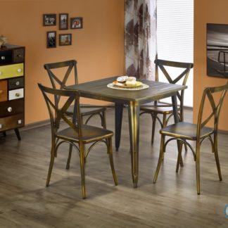 Jídelní stůl Magnum měděný čtverec - HALMAR