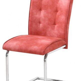 Židle Dakota imitace kůže červená - FALCO
