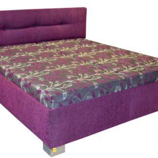 Čalouněná postel Izidora 180x200 fialová - PROKOND