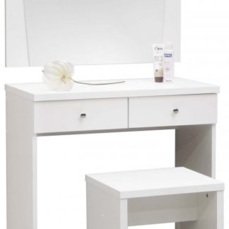 Toaletní stolek Omega bílá struktura - Mikulík