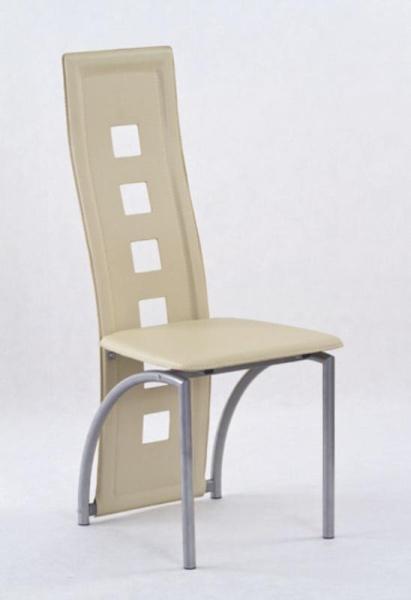 Židle KA4M, tmavě krémová