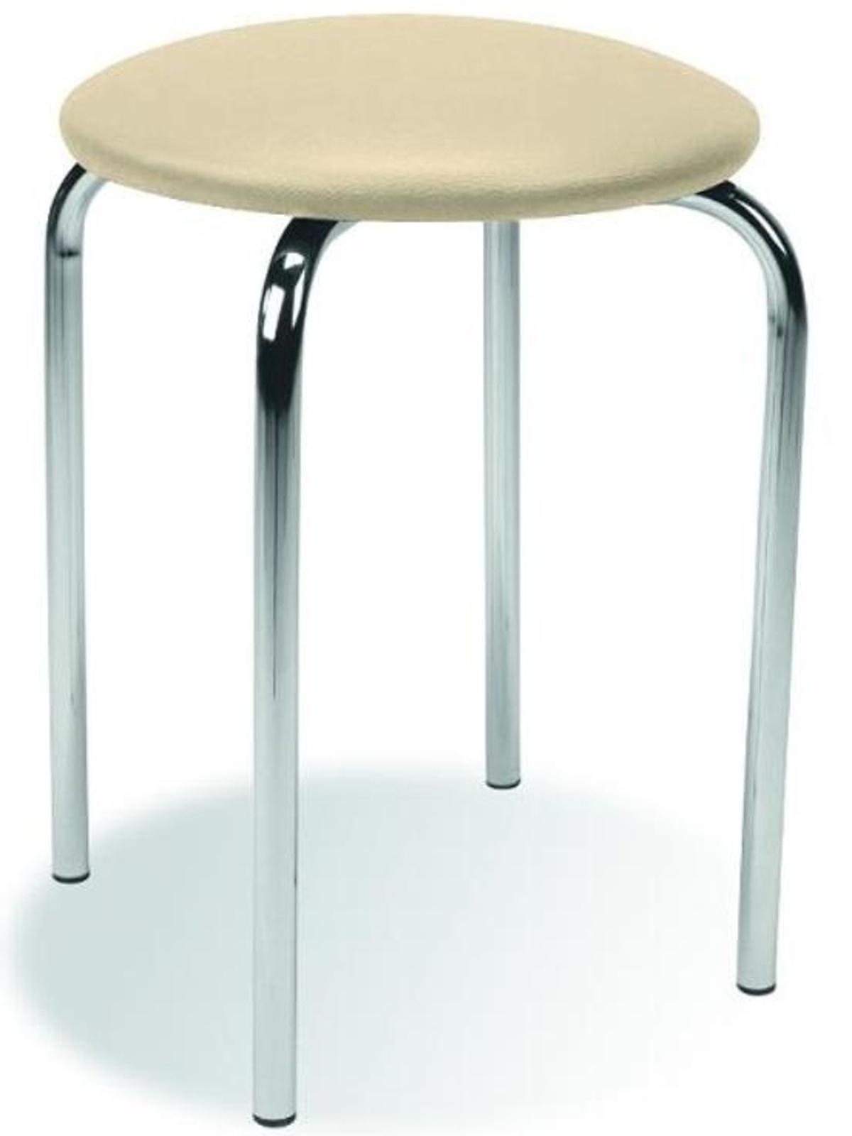 Stolička židle CHICO, krémová