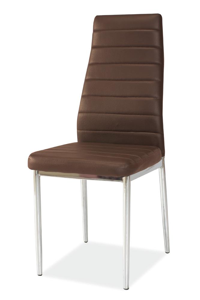 Jídelní židle H-261, hnědá
