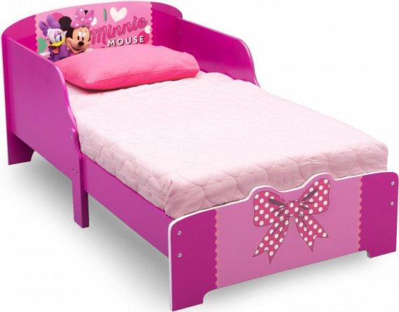 Forclaire Dětská dřevěná postel Minnie Mouse