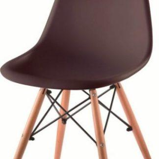 Tempo Kondela Židle CINKLA 2 NEW - tmavě hnědá + buk