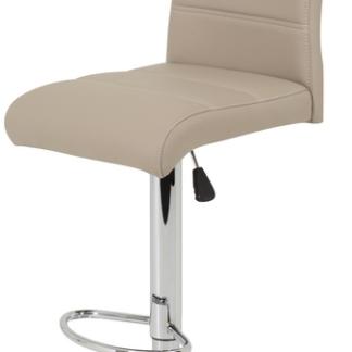 Barová židle Miranda, cappuccino ekokůže