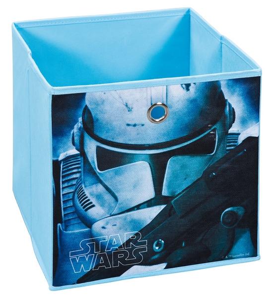 Úložný box Star Wars 1, modrý, motiv bojovníka