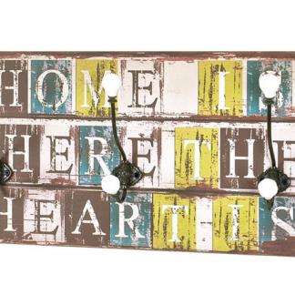 Nástěnný věšákový panel Home Heart Mini 42902