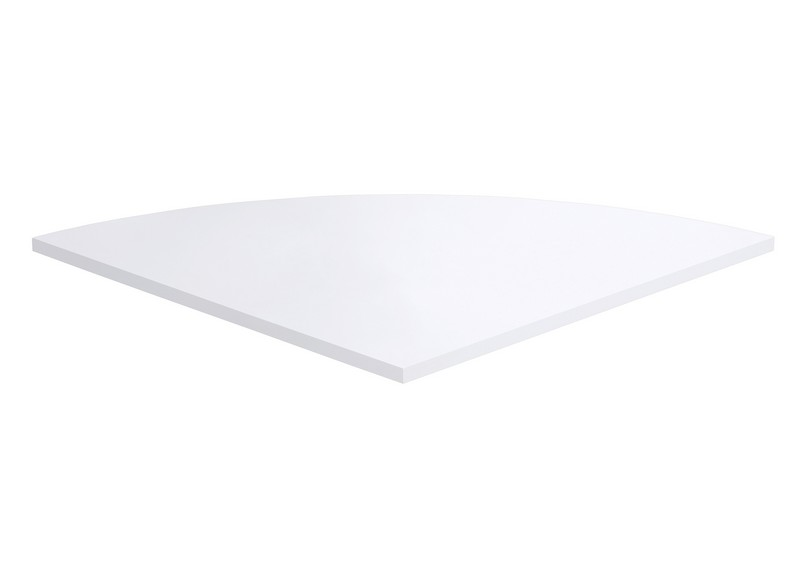 Rohový nástavec ke stolu Calvia 3, bílá