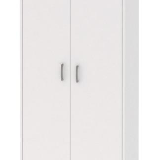 Vysoká skříňka Mega 62, bílá