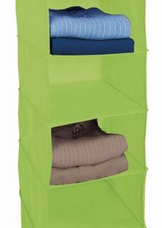 Závěsný regál Cover (6 přihrádek), zelený