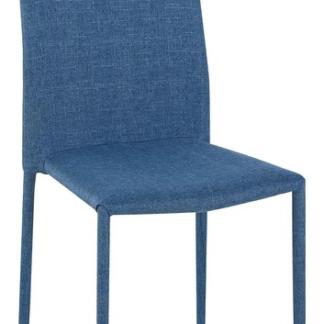 Jídelní židle Doris, modrá látka