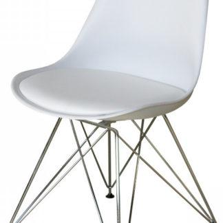 Idea Jídelní židle PITU bílá