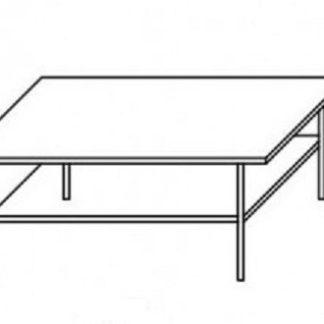 Konferenční stolek R9 Samba švestka - JUREK