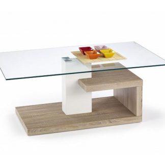 Konferenční stolek Evelin dub sonoma
