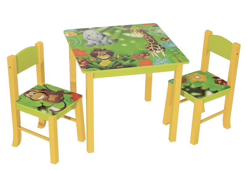 Dětský set nábytku JUNGLE