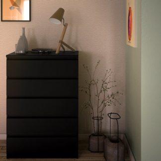 Komoda Naia 71071 černý mat - TVI