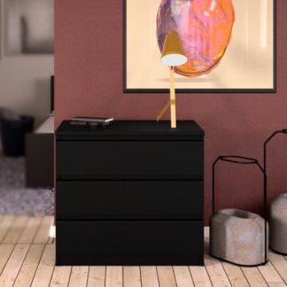Komoda Naia 71076 černý mat - TVI