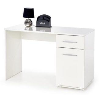 Psací stůl Lima B1 bílý - HALMAR
