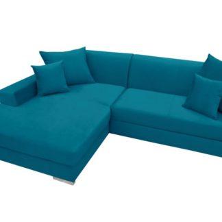 Rohová sedací souprava Mexico modrá - FALCO