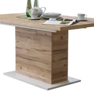 Jídelní stůl Cartago, 160x90 cm, rozkládací
