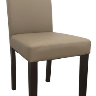 Jídelní židle Rudy, cappuccino ekokůže