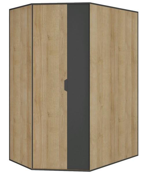 Rohová šatní skříň Nano 1