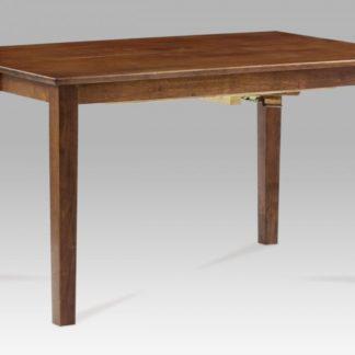 Jídelní stůl  rozkl. 136+45x91x75 cm, barva ořech AUB-200 WAL Autronic